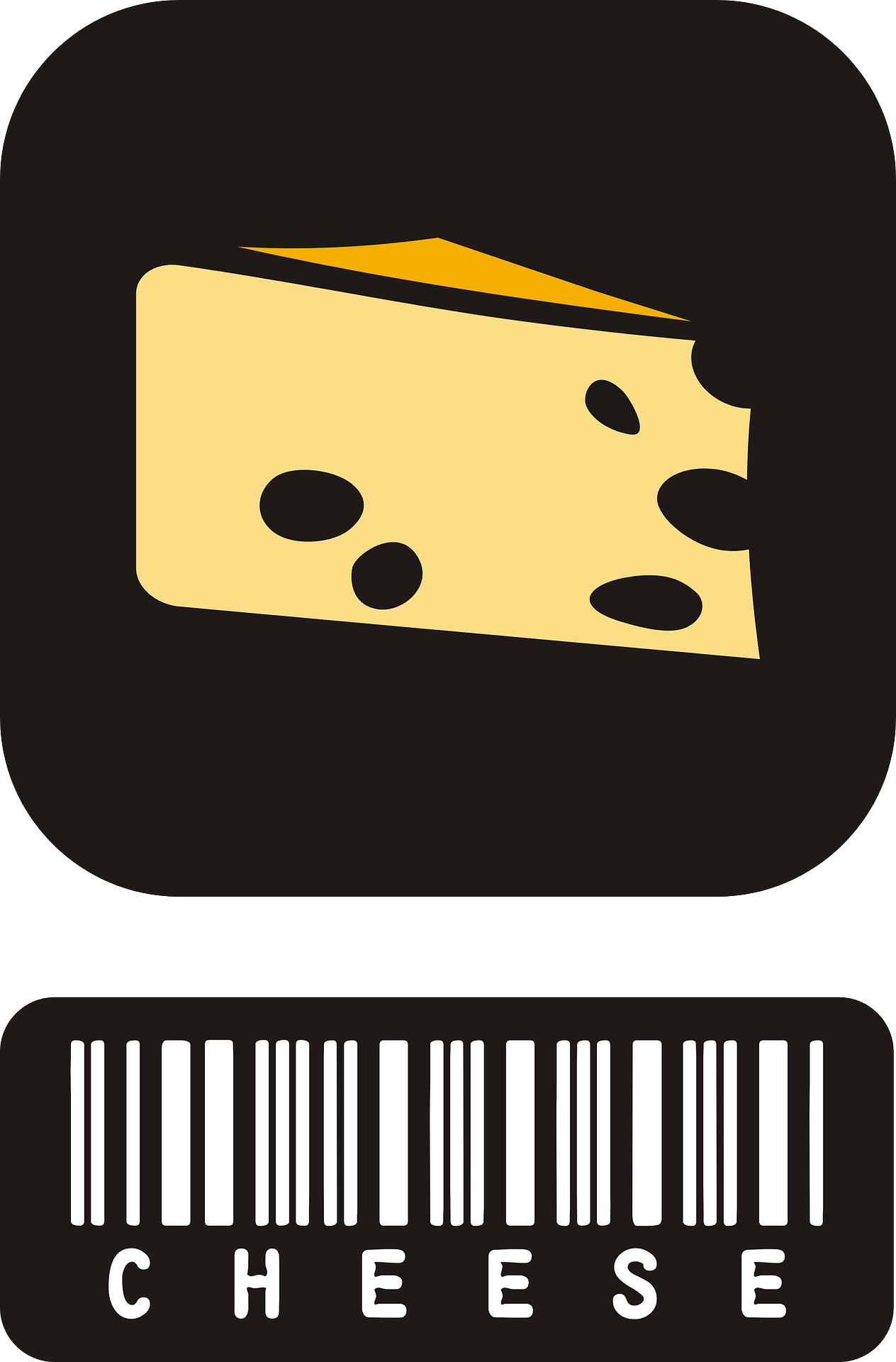 cheese, triangle, grocery